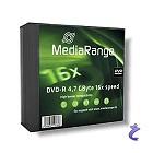 MediaRange 5x DVD-R 4,7GB 16x Slimcase Pack5 MR418 DVD Rohlinge