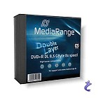 MediaRange 5x DVD+R DL 8,5GB 8x Slimcase Pack5 MR465 Double Layer