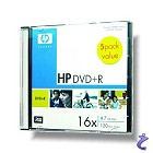 HP DVD+R 4.7GB 16x 5er Pack DVD+R Rohlinge in Slimcases ovp