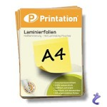 Printation Laminierfolien A4 2x 125 mic 303 x 216mm - 25 Laminiertaschen