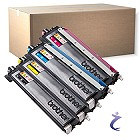 Brother Original TN-230 4er Toner Set  HL 3040CN DCP 9010CN MFC 9120CN