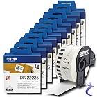 10x Brother P-touch DK-22225 Endlos Etiketten DK22225 für Internetmarke
