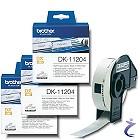 3x Brother P-touch DK-11204 Einzel-Etiketten 17 x 54mm DK11204