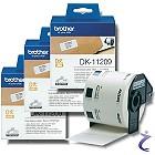 3x Brother P-touch DK-11209 Einzel-Etiketten DK11209 Adressetiketten