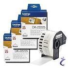 3x Brother P-touch DK-22225 Endlos Etiketten DK22225 für Internetmarke