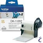 Brother P-touch DK-11207 Einzel-Etiketten DK11207 CD DVD Etiketten