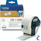 Brother P-touch DK-11208 Einzel-Etiketten DK11208 weiß