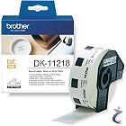 Brother P-touch DK-11218 Runde Papier Etiketten DK11218