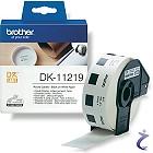 Brother P-touch DK-11219 Runde 12mm Papier Etiketten DK11219