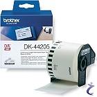 Brother P-touch DK-44205 62mm Endlos-Etiketten DK44205 wiederablösbar