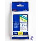 Brother P-touch Schriftband TZe133 TZe-133 blau farblos TZ-133