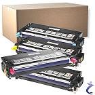 DELL Original MFP 3115CN 4er Toner Set mit allen Farben u. Schwarz oK