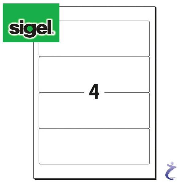 Sigel Ordner Etiketten kurz, breite Ordner LA430 192 x 61 mm