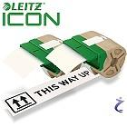 2x Leitz Etiketten Rolle 88 mm x 22 m Papier Weiß Permanent 7003-00-01