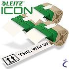 3x Leitz Etiketten Rolle 88 mm x 22 m Papier Weiß Permanent 7003-00-01