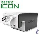 LEITZ ICON Etikettendrucker 7001-00-00 weiß / grau - inkl. Starterset - FBA