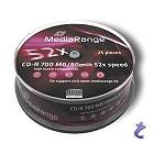 MediaRange CD-R - 80 Min 700MB Cake 25 Stk MR201 CDR Speichermedien
