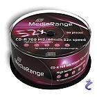 MediaRange CD-R - 80 Min 700MB Cake 50 Stk MR207 CDR Speichermedien