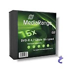 MediaRange 5x DVD-R 4,7GB 16x Slimcase Pack5 MR418 DVD Rohlinge