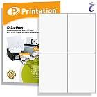 Printation Etiketten 105 x 148,5 weiß  40 Versandetiketten 105x148 A4