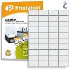 Printation 52,5 x 29,7 Etiketten weiß selbstklebend   4000x 52,5x29,7