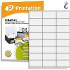 Printation Etiketten 70 x 36 mm weiß 240 Aufkleber 70x36 Internetmarke