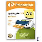Printation Laminierfolien A3 2x 125 mic 426x303mm - 100 Laminiertaschen