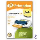 Printation Laminierfolien A4 2x 125 mic 303x216mm - 100 Laminiertaschen