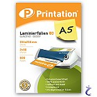 Printation Laminierfolien A5 2x 80 mic 216x154mm - 100 Laminiertaschen