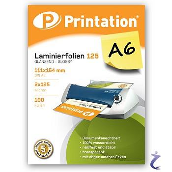 100 PREMIUM Laminierfolien A5 154 x 216mm glossy Laminiertaschen gl/änzend 2x 75 Mic