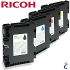 Ricoh Original GC 41 4x Gel Patronen Set 405765 405766 405767 405768
