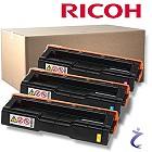 Ricoh Aficio 3er Original Rainbow C220N Tonerset C/Y/M oK