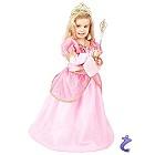 Traumhaftes Rosa Prinzessin Mädchen Kleid - Kostüm Set mit Diadem -122