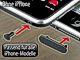Staubschutz Stöpsel Set für iPhone 3G / 3GS / 4 / 4S und iPod  schwarz