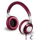 Hama Over-Ear-Stereo-Kopfhörer Donut, Cranberry, neu & ovp