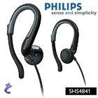 PHILIPS SHS4841 InEar Sport Kopfhörer mit Ohrbügel f. iPhone u. iPod