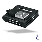 "BestMedia Platinum USB 2.0 Cardreader ""All-in-One"" - Mini Kartenleser"